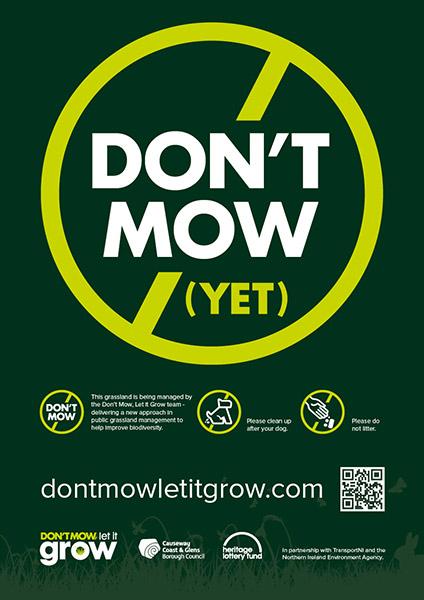 Don't Mow logo